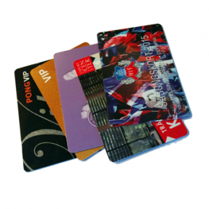 tryckta kort