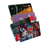 Tryckta plastkort
