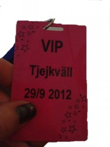 Hockeyklubben Oskarshamn – gör rosa VIP-kort