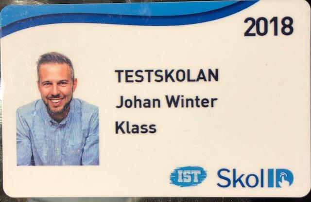 Skol ID -fotolegitimationer
